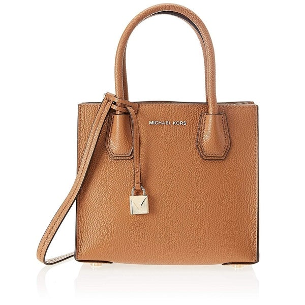 33d43ddf1a0c2d Shop Michael Kors Mercer Tote - ACORN - 30F6GM9M2L-203 - Free Shipping  Today - Overstock - 25730319