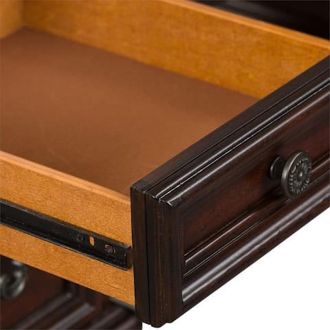 Messina Estates Cognac Vanity Desk