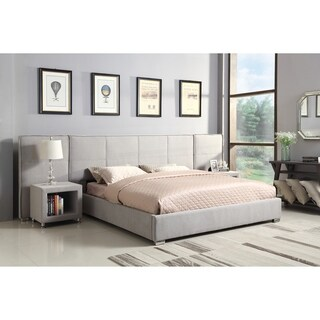 Emerald Home Cazelle Contemporary Queen Wall Bed, Dove Gray