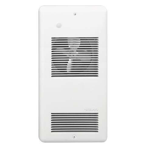 Stelpro ARWF2002W 2000 Watt 240 Volt White PULSAIR Wall Fan Heater