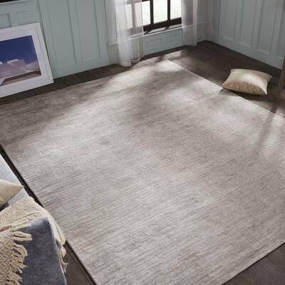 Grey Wool 10 X 14 Area Rugs