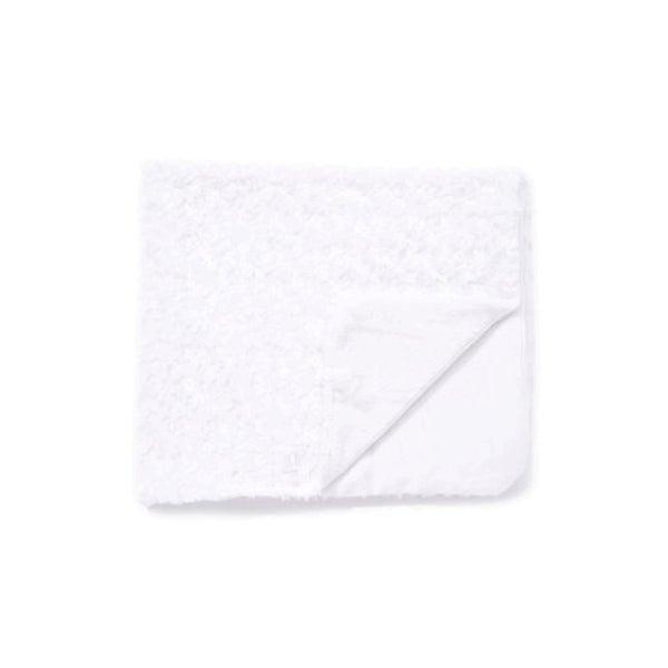 Curly Rosette Plush Baby Blanket