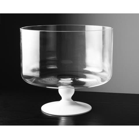 Majestic Gifts Inc. European Glass Trifle Bowl