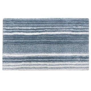 Croscill Nomad Blue Stripe Bath Rug