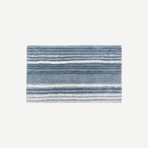 Shop Nomad Stripe Bath Rug 20 X 30 Free Shipping On Orders Over