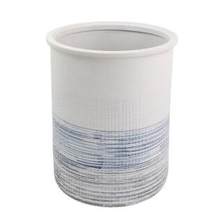 Nomad Stripe Wastebasket