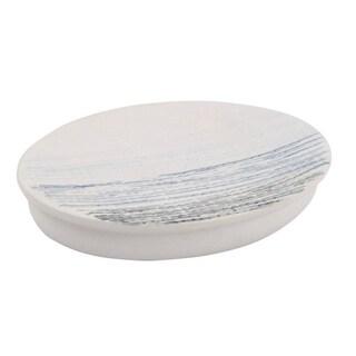 Croscill Nomad Blue Stripe Soap Dish