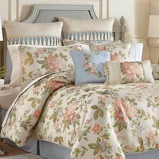 Croscill Carlotta Floral 4 Piece Comforter Set