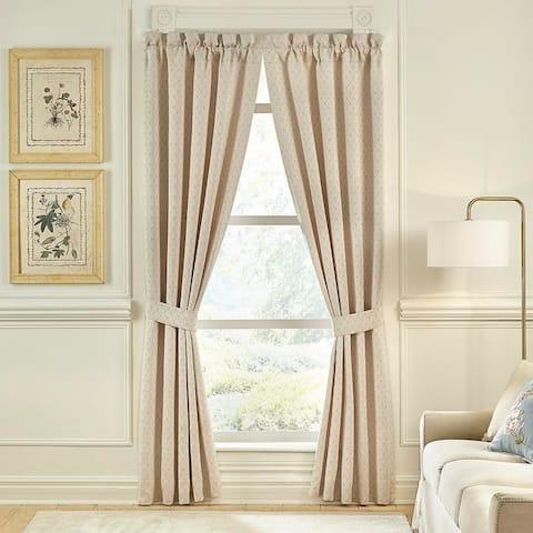 Croscill Carlotta Jacquard Panel Pair Curtain