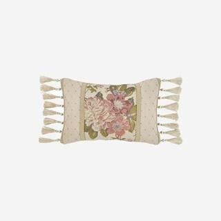 "Croscill Carlotta 18x12"" Tassel Trimmed Boudoir Pillow"