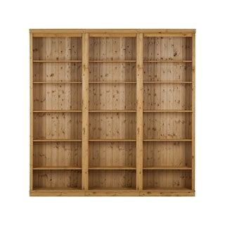 Anita 3-piece 86-inch Tall Shelving Unit, solid pine