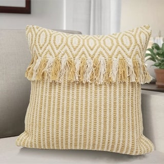 Home Collection Avani Decorative Pillow with Tassels