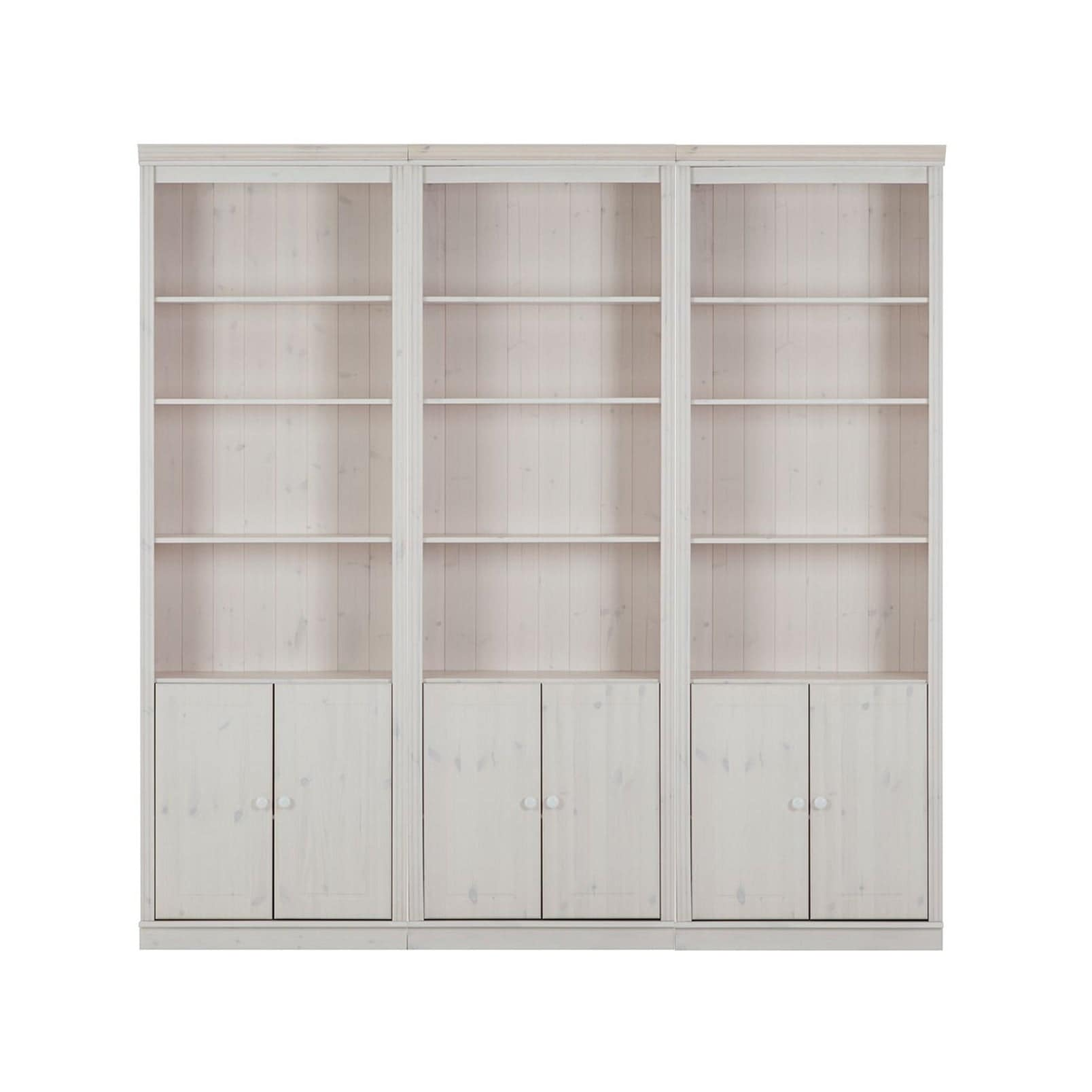 Annabelle 6 Piece Solid Pine Wall Unit