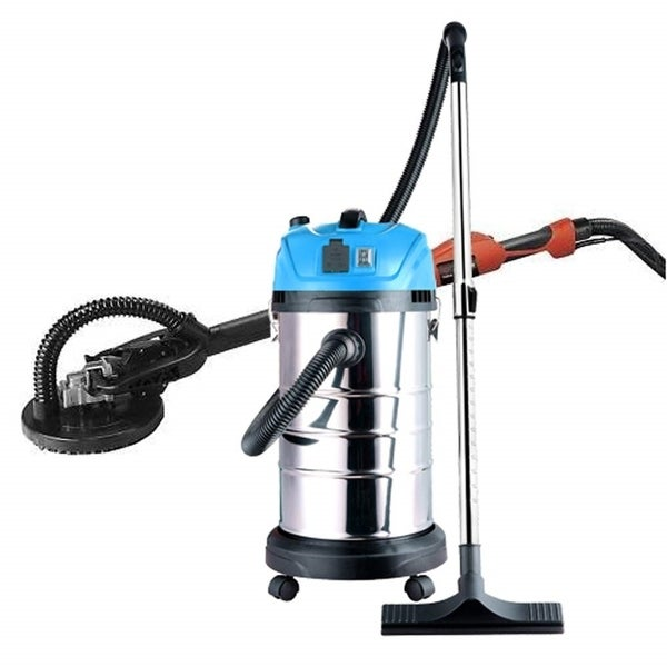 ALEKO Combo Kit Drywall 520W Sander with Wet Dry Vacuum Cleaner
