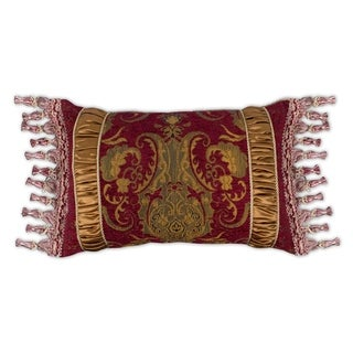 Sherry Kline China Art Red Boudoir Pillow
