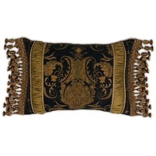 Sherry Kline China Art Black Boudoir Pillow