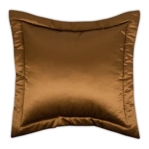 Sherry Kline China Art Brown Euro Gold Sham