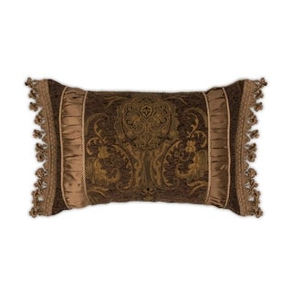 Sherry Kline China Art Brown Boudoir Pillow