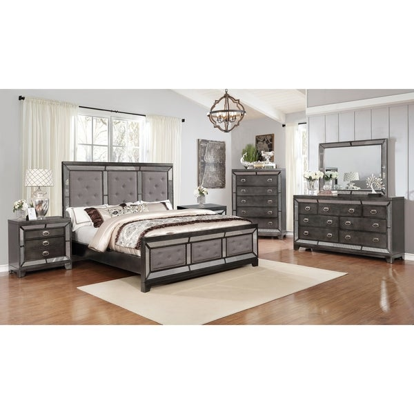 Shop Best Quality Furniture Victoria 6 Piece Bedroom Set Free Shipping Today