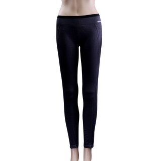 Women's Active Leggings Slim Seamless Compression Workout Tights Grey