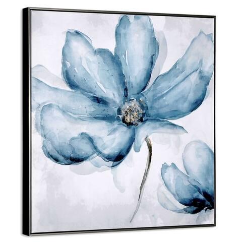 Blue Blossom Framed Print