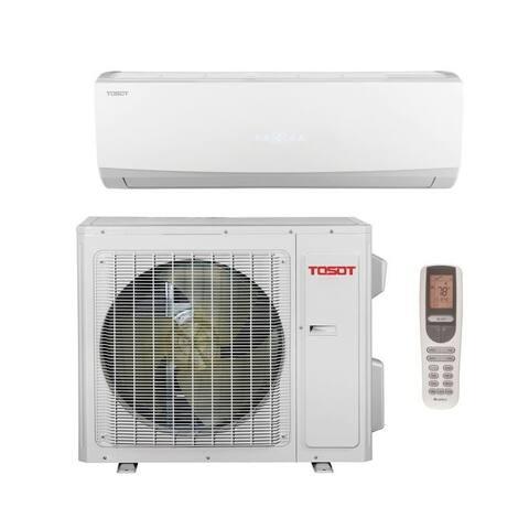 TOSOT 12000 BTU 16 SEER Single Zone Minisplit Heat Pump System 115V