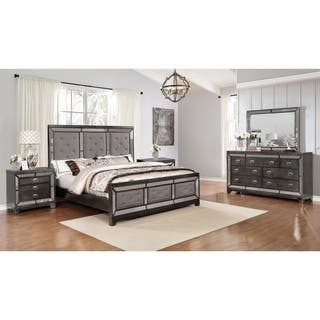 Buy Glass, Upholstered Headboard Bedroom Sets Online at ...