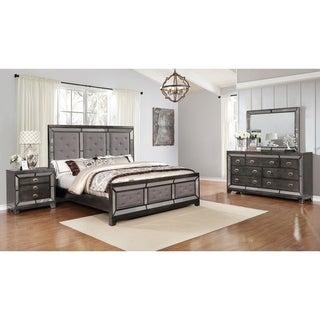 Best Quality Furniture Victoria 4-Piece Bedroom Set