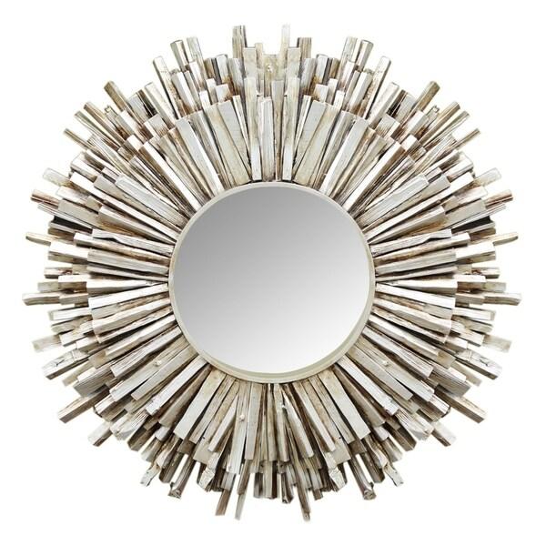 Juniper Wood Framed Mirror