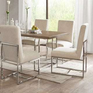 Link to Madison Park Miyu Natural Dining Chair (Set of 2) Similar Items in Accent Chairs