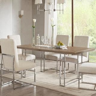 Madison Park Kors Grey-wash Wood/Metal Dining Table