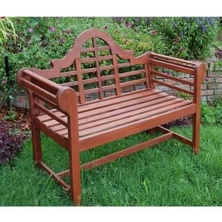 Cambridge Casual 4ft Mahogany Garden Bench