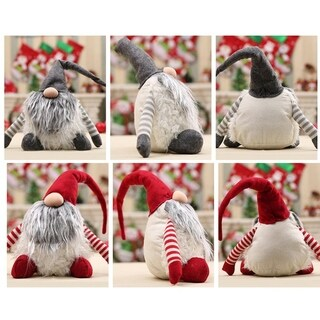 Christmas Plush Doll Decoration Tree Hanging Ornament for Party Deocration