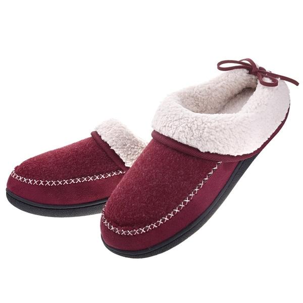 a640a55aefbc7 Shop Dasein Women's Winter Warm Comfort Memory Foam Slippers - Anti ...