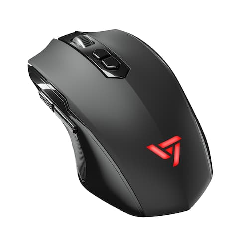 VicTsing Wireless Gaming Mouse with Silent Click, 7-Button Design, 2400 DPI High Precision
