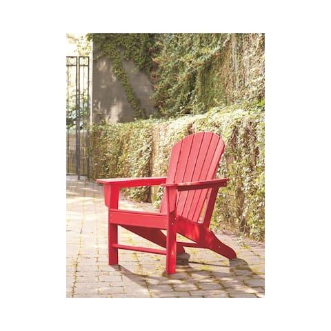 Sundown Treasure Outdoor Adirondack Chair - Red