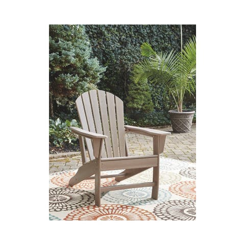 Sundown Treasure Outdoor Adirondack Chair - Grayish Brown