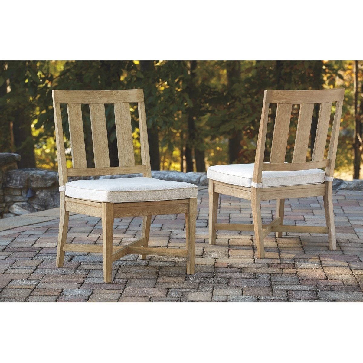 Shop Ashley Furniture Signature Design Clare View Outdoor Chair With