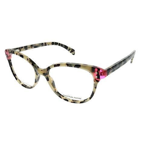 Marc by Marc Jacobs Square MMJ 632 A9B Unisex White Havana Pink Frame Eyeglasses