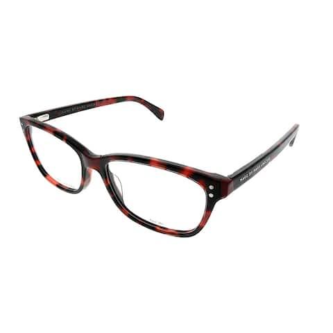 Marc by Marc Jacobs Rectangle MMJ 660 BCX Unisex Red Havana Frame Eyeglasses