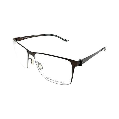 Mercedes Benz Square MB 2054 C Unisex Bronze Frame Eyeglasses