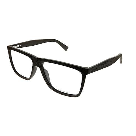 Marc by Marc Jacobs Rectangle MMJ 649 LNN Unisex Brown Textured Frame Eyeglasses