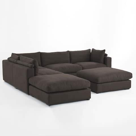 Valhalla 6pc Deep Seating Sectional by RST Brands