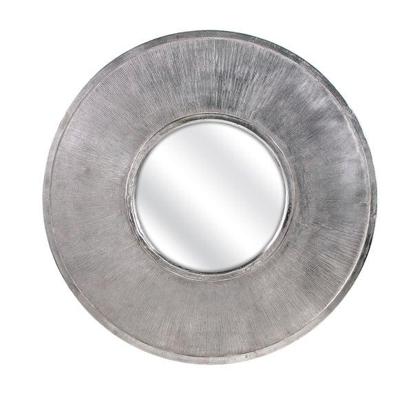 Trisha Yearwood Nightingale Grey and Silver Wall Mirror - Pewter - A/N