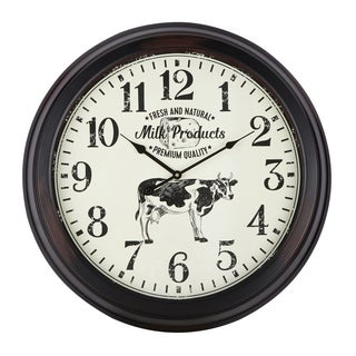 Clyde Brown Wall Clock