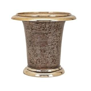 Stuart Gold and Brown Vase