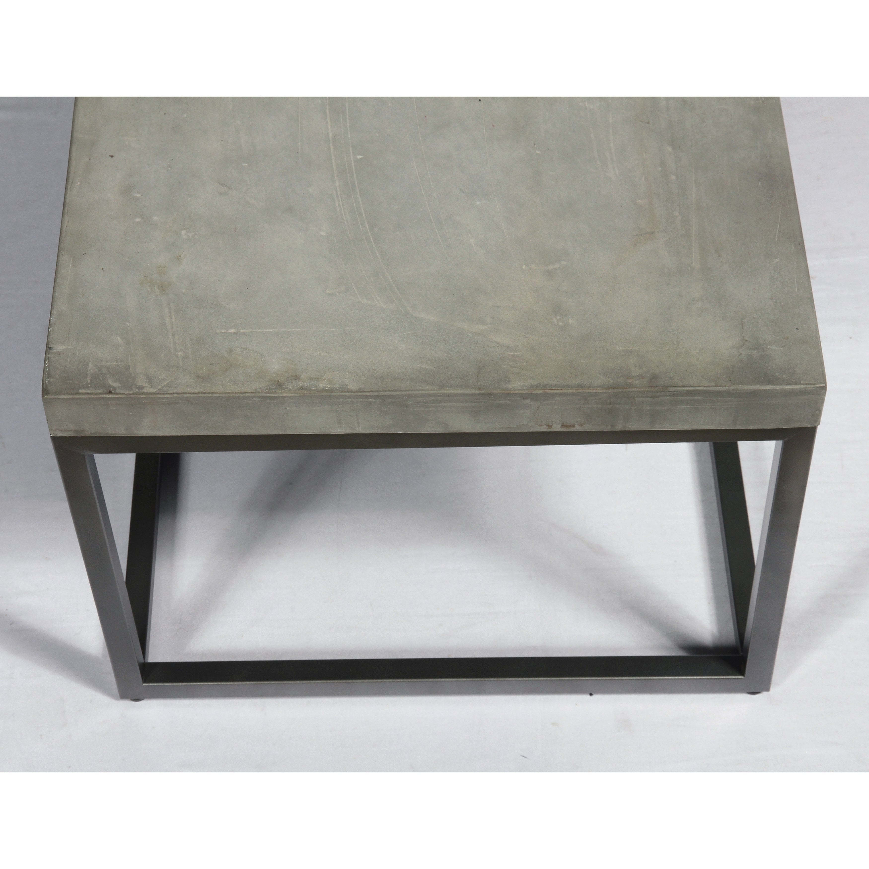 Emerald Home Onyx Concrete Finish Sofa Table
