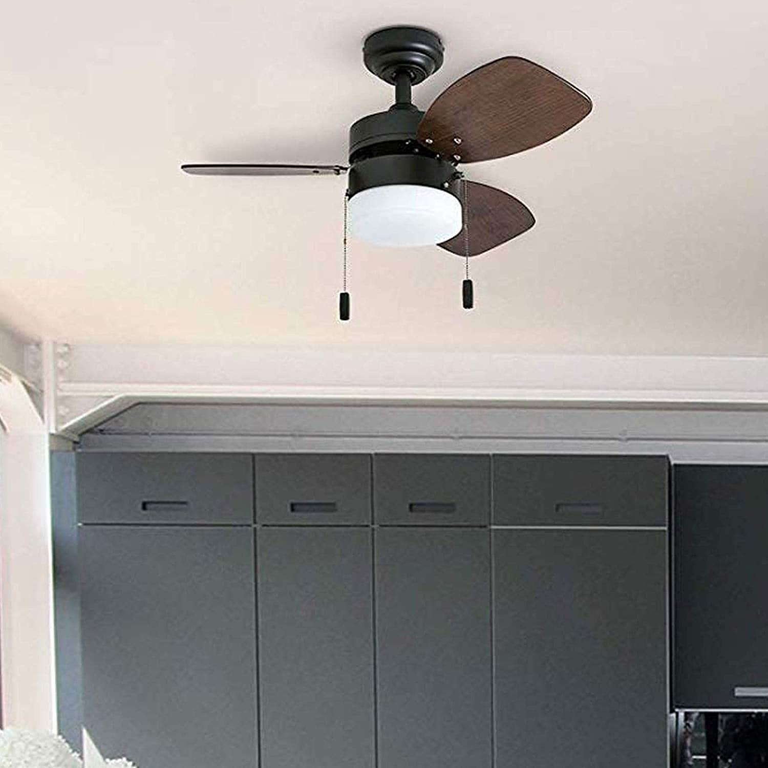 Bronze Small Led Ceiling Fan