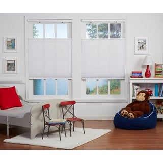 White Light Filtering Top Down Bottom Up Shade (72-inches long)