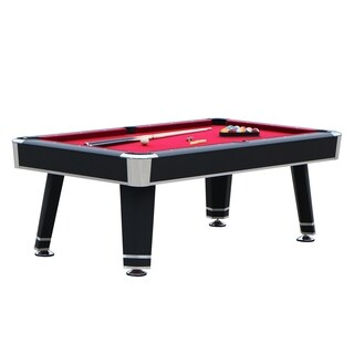 Jupiter 7-ft Pool Table - Black Finish
